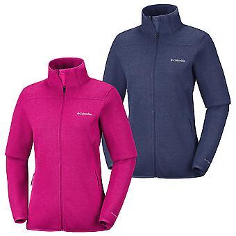 Columbia damas fleece chaqueta altura aspecto III.