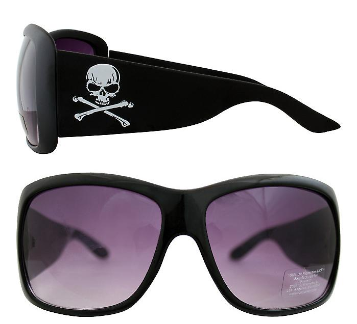 Waooh - Sunglasses 910 - Design Skull Pirate - Mount Color - Protection UV400 Category 3 - Sunglasses