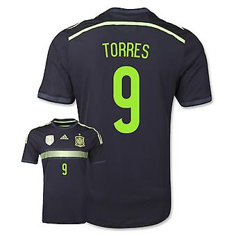 2014-15 Spanje weg World Cup Shirt (Torres 9) - Kids