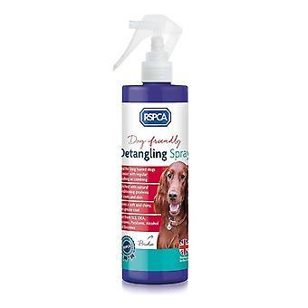 RSPCA Detangling スプレー 250 ml - 削除ノットともつれ重いコートの犬の