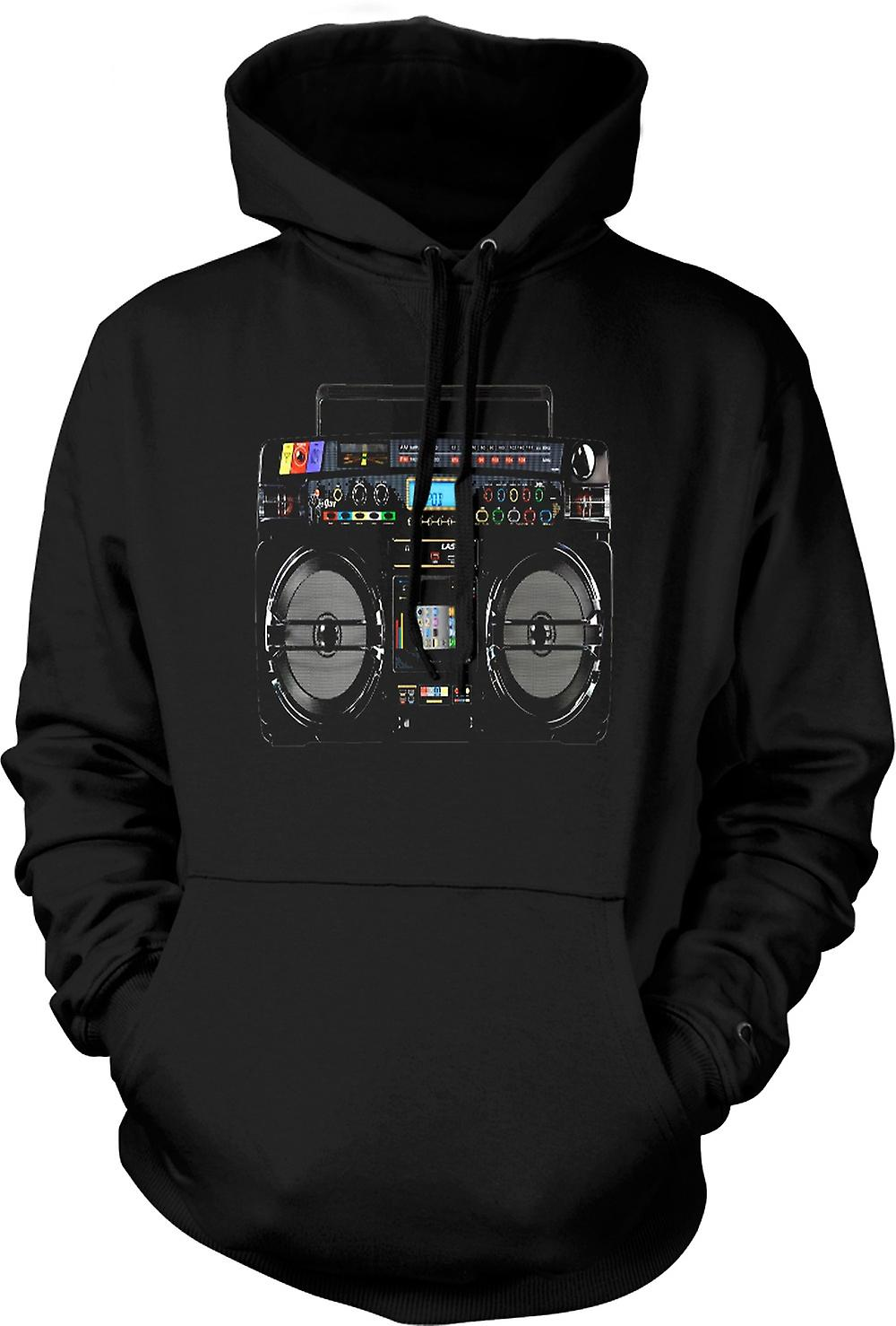 Kids Hoodie - iPod - Ghetto Boom Box