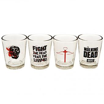 The Walking Dead Official Shot Glass Set (Pack Of 4)