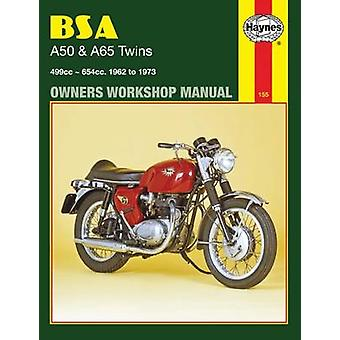 B. S. A. A50 and A65 Series Owner's Workshop Manual by Mark Reynolds