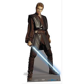 Anakin Skywalker de Star Wars grandeur nature en carton Découpe / Standee / Standup