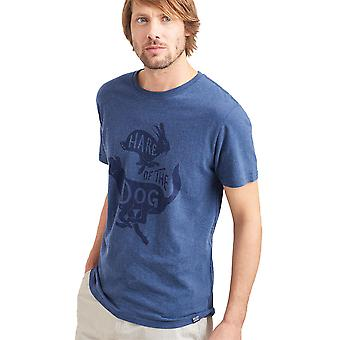 Joules Mens Graphic Soft Cotton Crew Neck Casual T Shirt