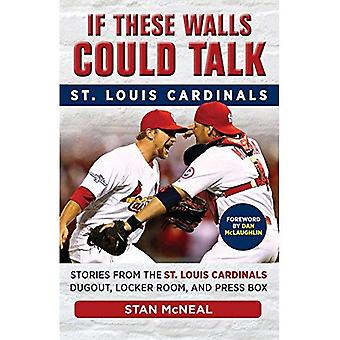 If These Walls Could Talk: St. Louis Cardinals: Stories from the St. Louis Cardinals Dugout, Locker Room, and...