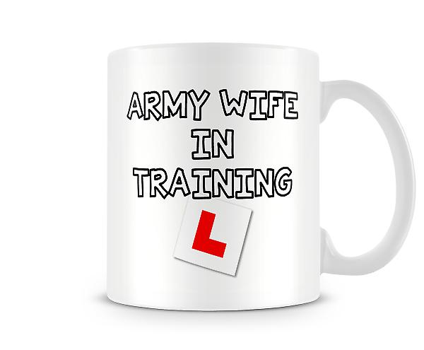 Army Wife In Training Mug