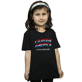 Marvel Girls Captain America AKA Steve Rogers T-Shirt