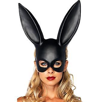 Maschera coniglio nero per adulti
