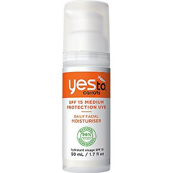 Yes To Carrots Facial Moisturiser SPF15