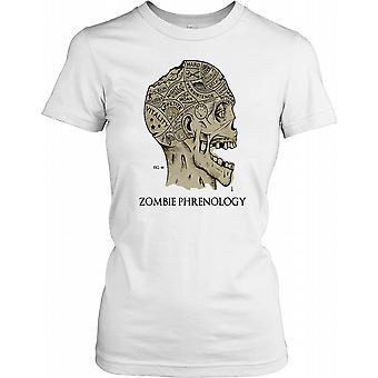 Zombie Phrenologie Poster Damen T Shirt