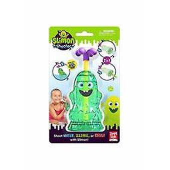 Mr Slimon Shaped Bath Shooter - Pump Action Plastic Use With Water Slime Gelli