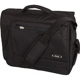 Jeep Deluxe Laptop Bag, Black