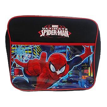 Børne Marvel Spider-Man neon Courier taske