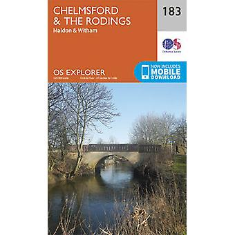 Chelmsford and the Rodings (September 2015 ed) by Ordnance Survey - 9