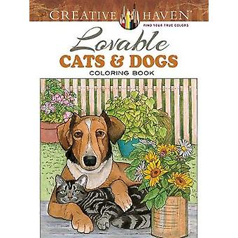 Creative Haven Lovable Cats and Dogs Coloring Book by Ruth Soffer - 9