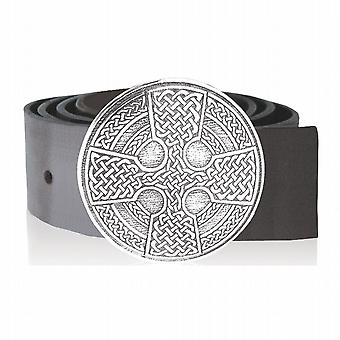 Kilt Buckle Pewter 88Mm Diameter - Bb008