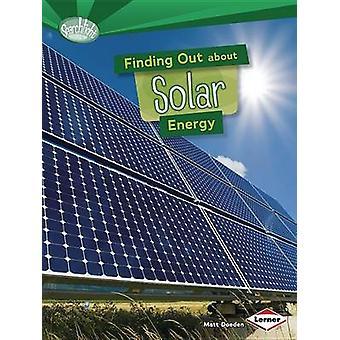 Finding Out about Solar Energy by Matt Doeden - 9781467745574 Book