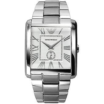 Orologio classico in acciaio da uomo Emporio Armani Ar1643