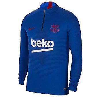 2019-2020 Barcelona Nike Strike Vaporknit Drill Top (Blue)