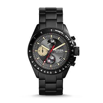 Fossil Decker Men's Black Chronograph Watch CH2942