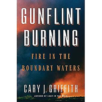 : Gunflint feu dans les eaux limitrophes