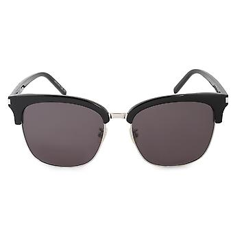 Saint Laurent SL 108/K 001 56 Square Sunglasses