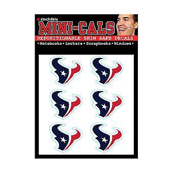Wincraft 6 ers gezicht sticker 3cm-NFL Houston Texans