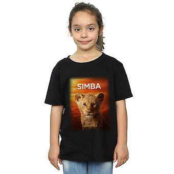 Disney Girls The Lion King Movie Baby Simba Poster T-Shirt
