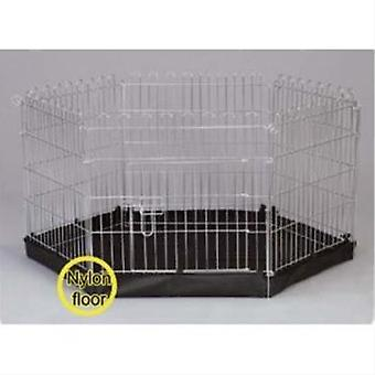 Henry Wag 6-Sided Wire Pet Play Pen With Base