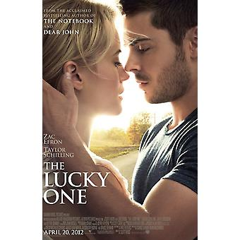 The Lucky One Poster Double Sided Regular (2012) Original Cinema Poster
