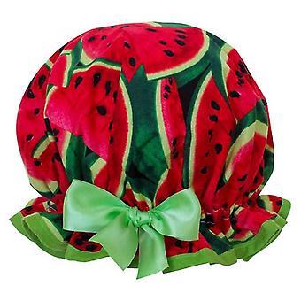 Wassermelone Duschhaube