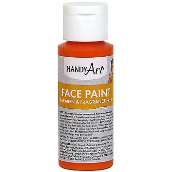 Handy Art Face Paint 2oz-Orange 558-15