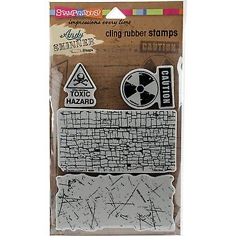 Stampendous Andy Skinner Cling Stamps 5