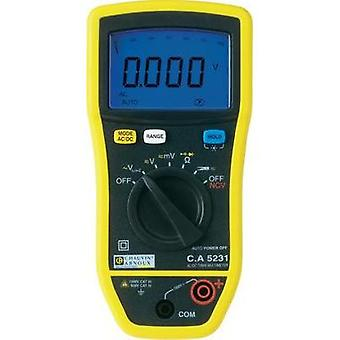 Handheld multimeter Chauvin Arnoux C.A 5231 Calibrated to: Manufacturer standards