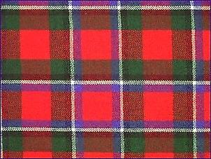 Sinclair Red, Modern - Pure Wool Tartan