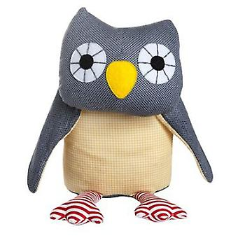 Franck & Fischer Asta stuffed owl gray (Toys , Preschool , Dolls And Soft Toys)