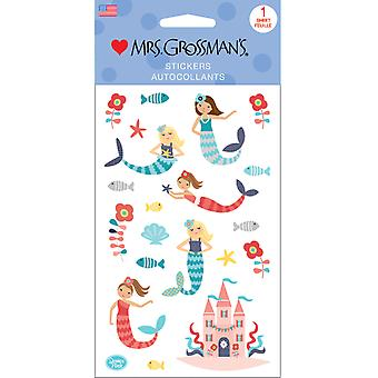 Mrs. Grossman's Stickers-Merry Mermaids 13565