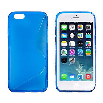 Handyhülle TPU Case für Handy Apple iPhone 6 (4,7 Zoll) blau