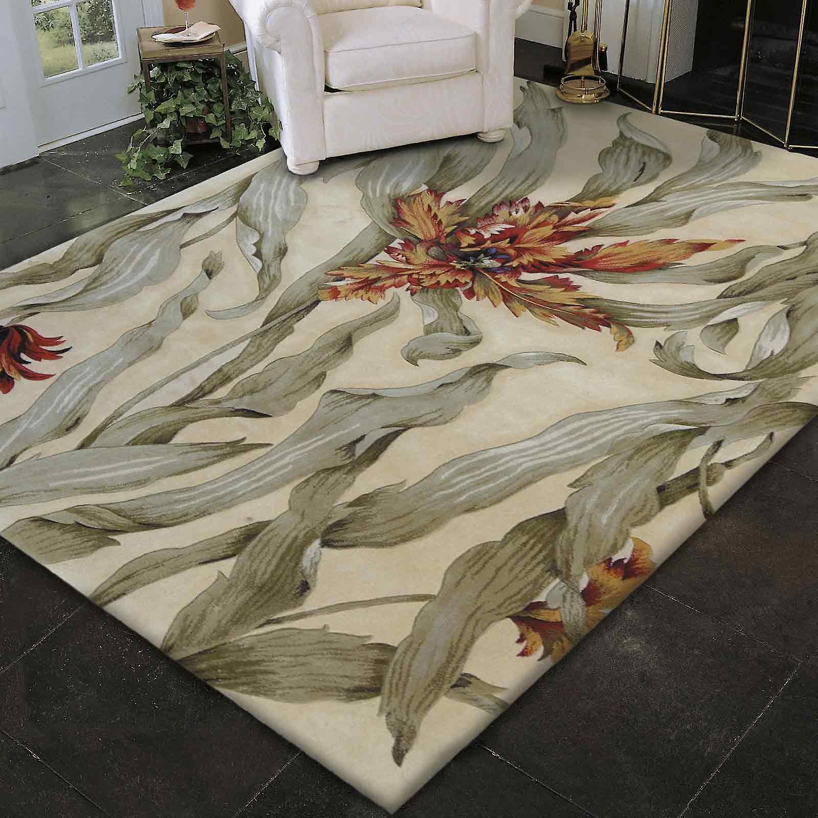 Nourison tropici tappeti Ts01 avorio