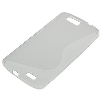 OTB TPU case compatible to Huawei Ascend G7 S-curve transparent