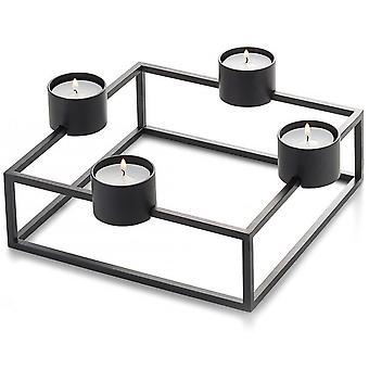 Philippi cubo tea light holder steel powder-coated magnetic