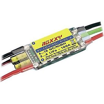 ROXXY ROXXY BL Control 9100-6Operating voltage7.2 - 22.2 V continuous current 100 Aconnector system Futaba