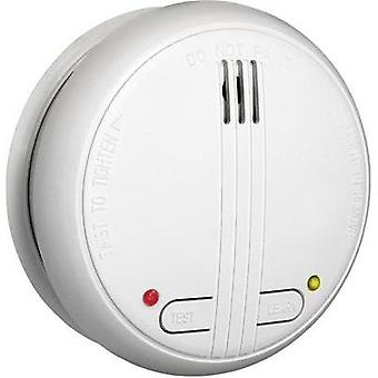 Wireless smoke detector network-compatible Flamingo 10.000.99 battery-powered