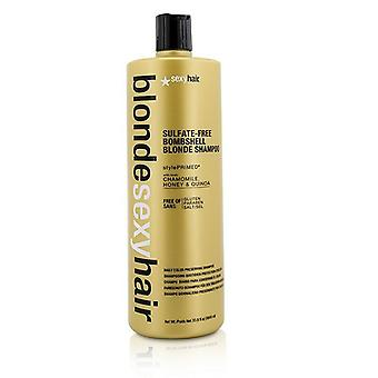 Sexy Hair begreber blond Sexy Hair sulfat-fri bombe Blonde Shampoo (daglig farve bevare) 1000ml/33.8 oz