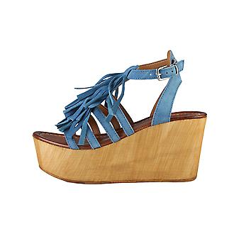 Ana Lublin Wedges Blue