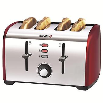 Breville VTT391 Four Slice Toaster - Red