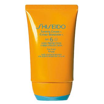 Shiseido Tanning Cream SPF 6 50 ml (Cosmetics , Body  , Sun protection)