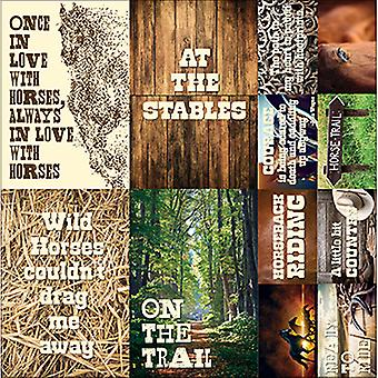 Saddle Up Poster Stickers 12