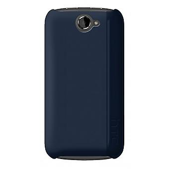 HTC -  Hardshell Snap On Case for One S - Blue